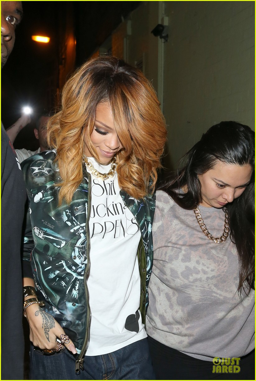 rihanna lillie bordello nightclub with jennifer rosales 042896104