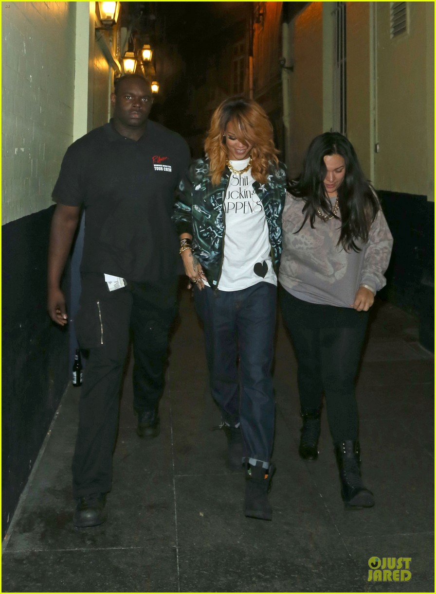 rihanna lillie bordello nightclub with jennifer rosales 11