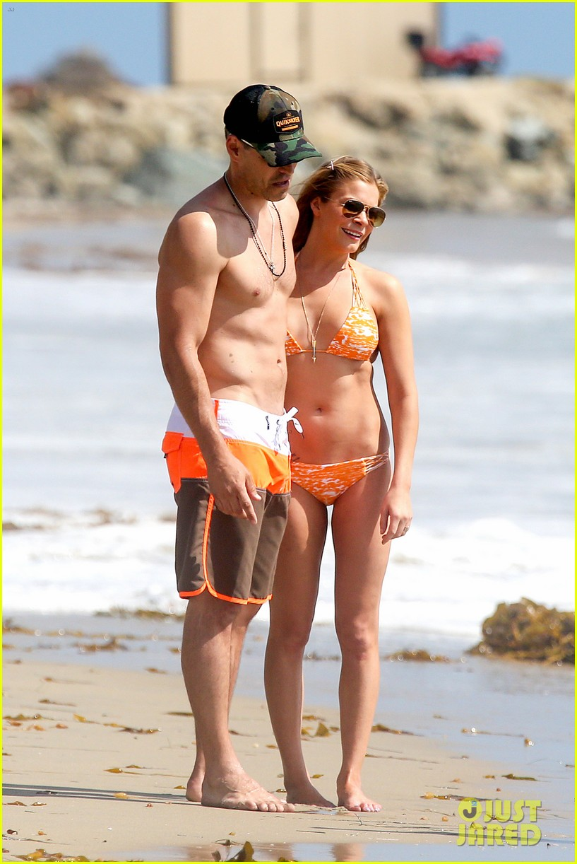 leann rimes bikini beach trip for eddie cibrian 40th bday 07