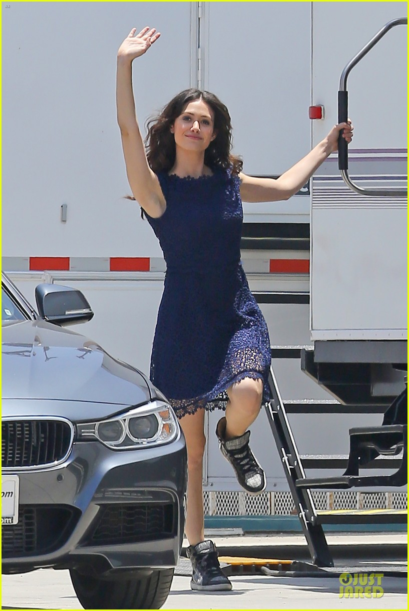 emmy rossum justin long makes me laugh too much on comet 012893909