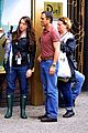 ryan murphy logan visit mark ruffalo cast on normal heart set 02