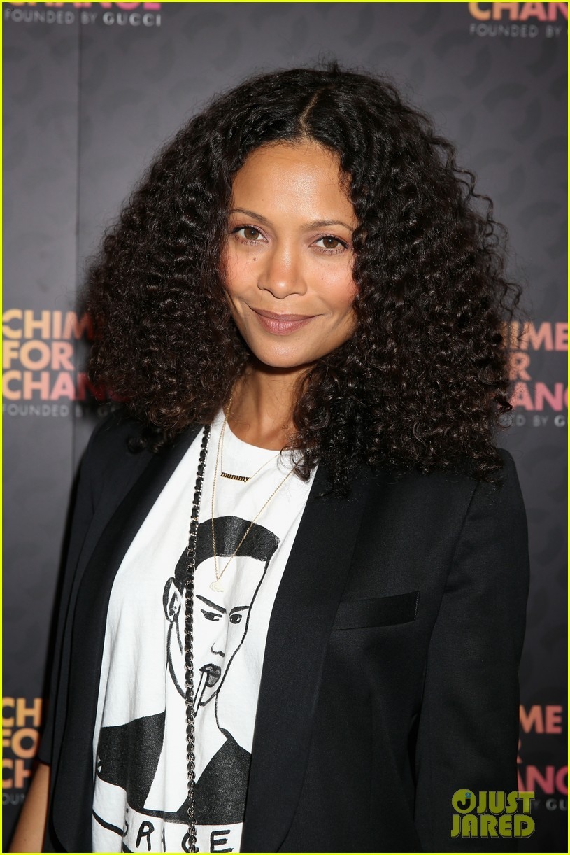 zoe saldana thandie newton chime for change concert 08