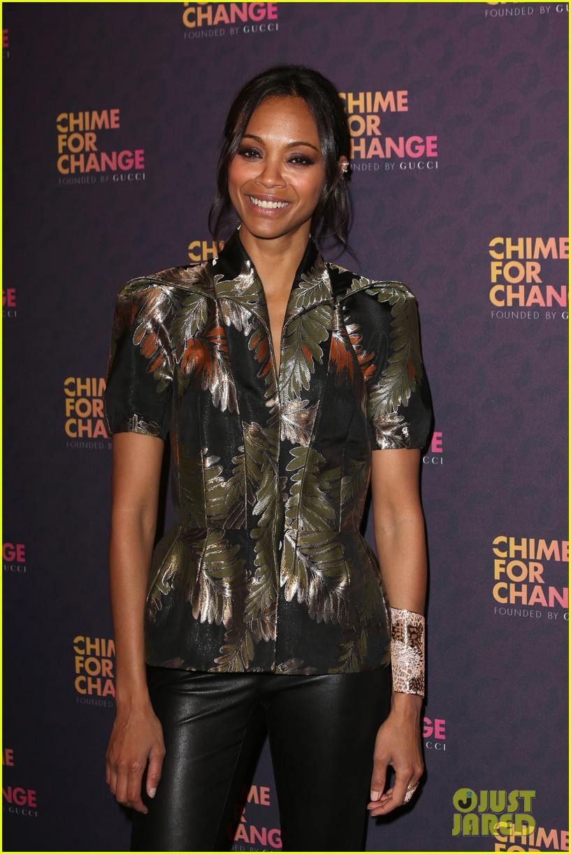zoe saldana thandie newton chime for change concert 13
