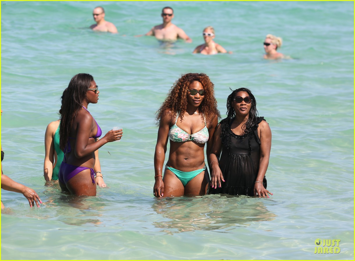 serena williams miami bikini beach babe 072891963