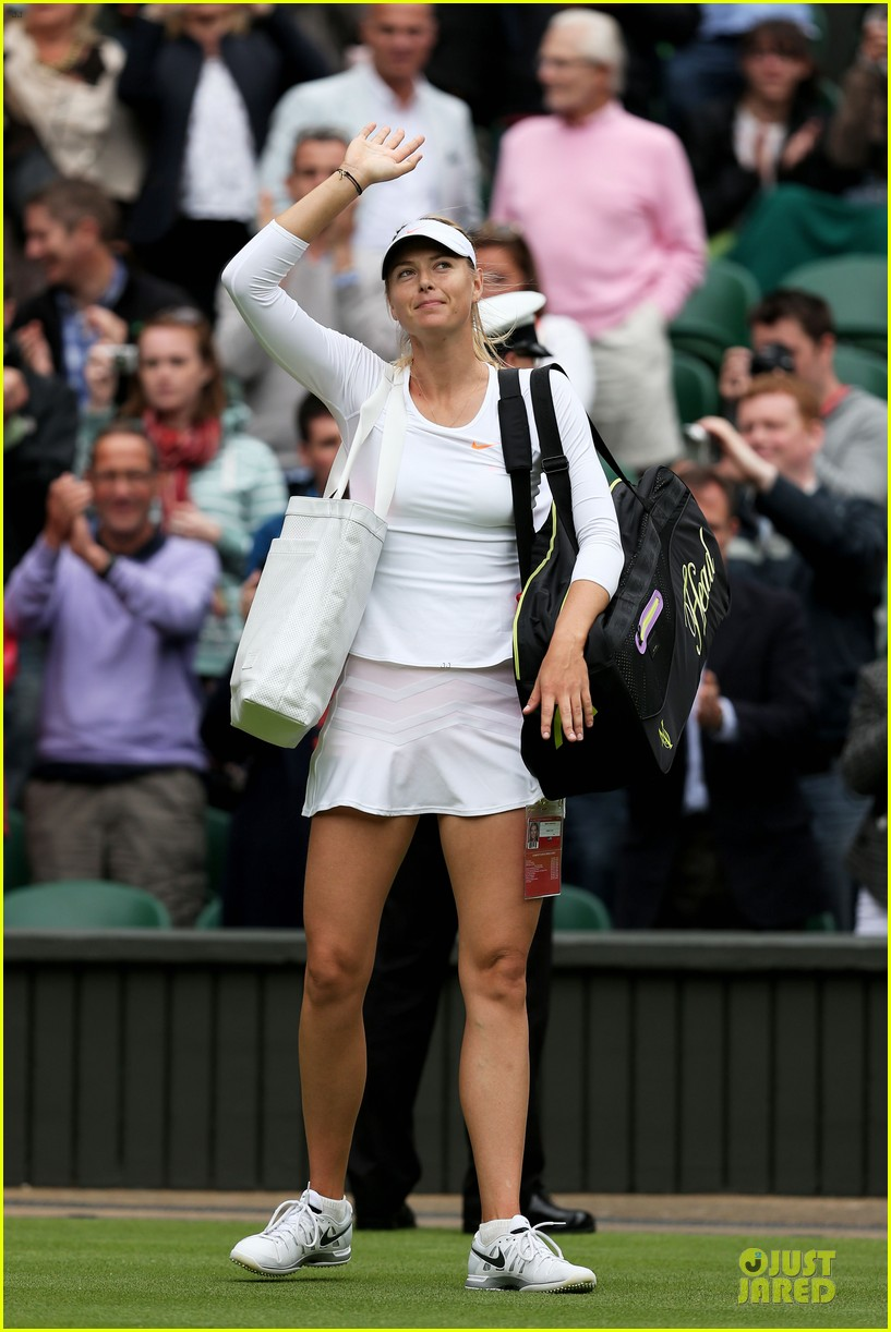 maria sharapova grigor dimitrov hold hands during wimbledon first rounds 242898005