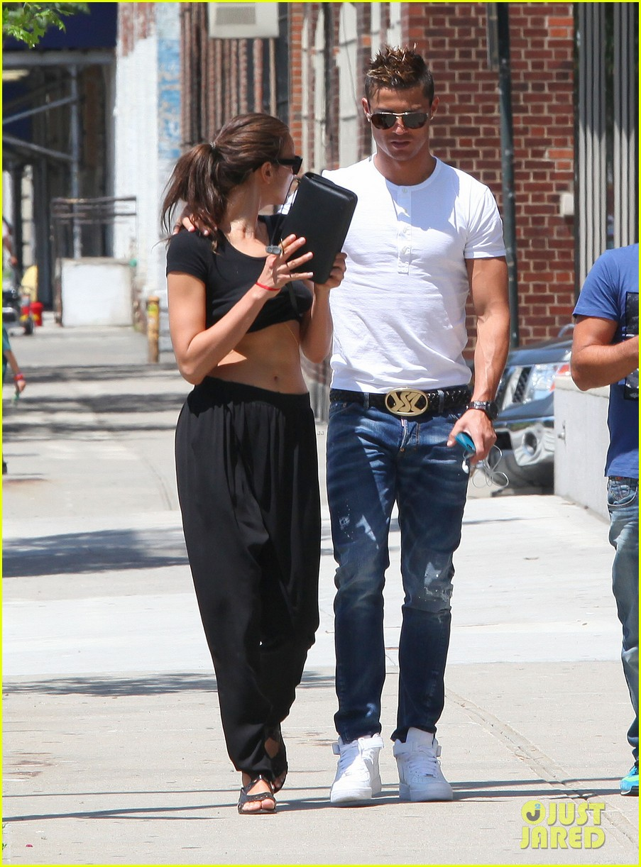 cristiano ronaldo irina shayk new york lovebirds 012894620