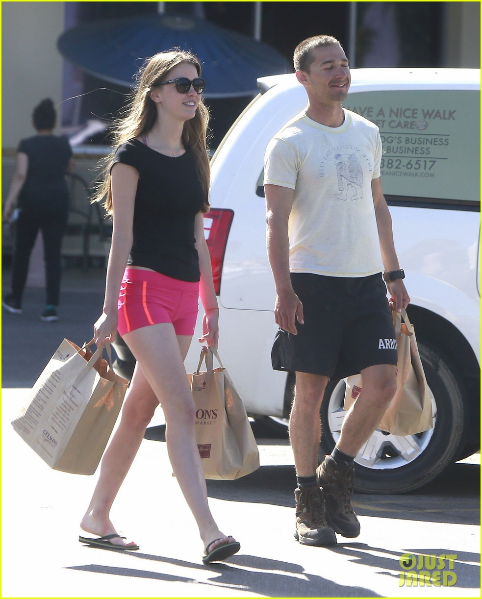 shia labeouf mia goth stock up for summer weekend 032895803