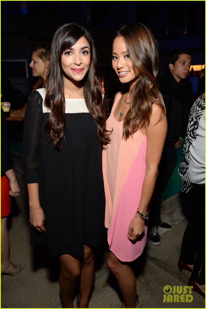 hannah simone jamie chung 24 hour plays after party 19