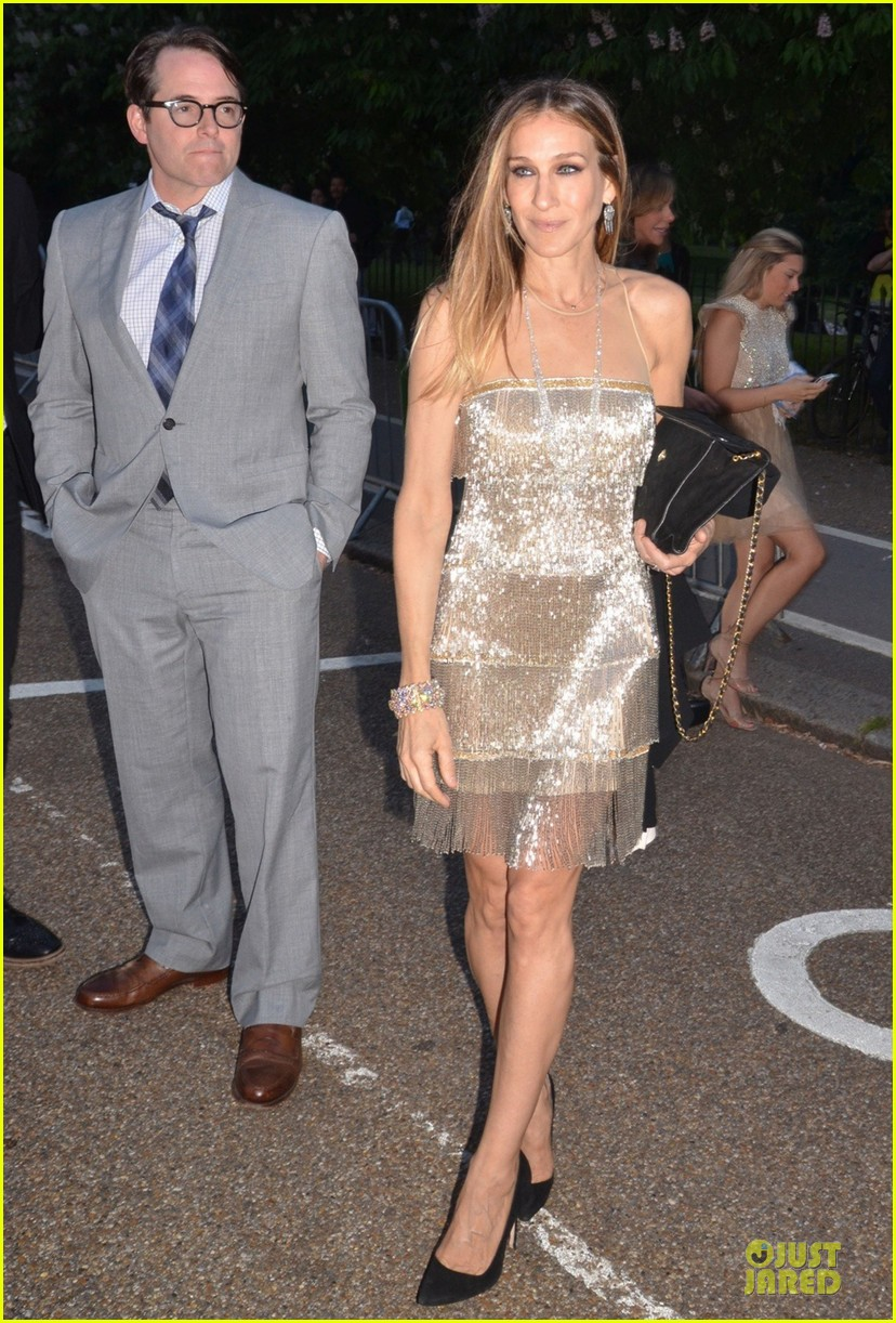 sarah jessica parker matthew broderick serpentine gallery summer party 052899000