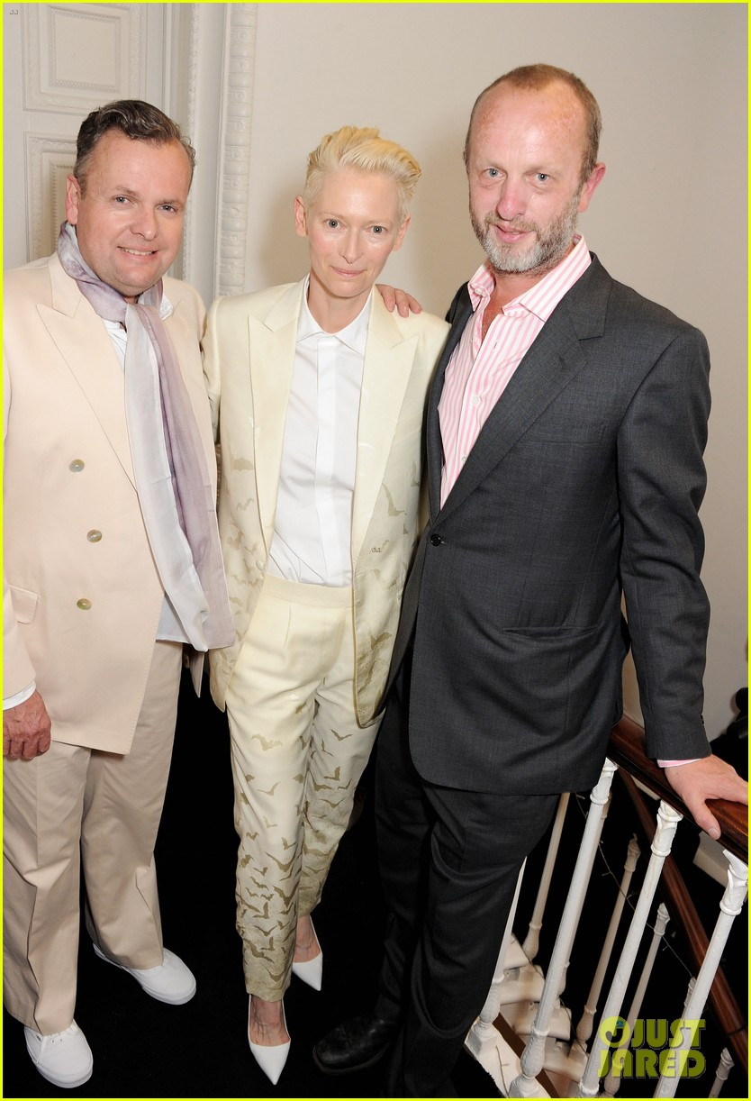 tilda swinton findhorn screening in london 042893211