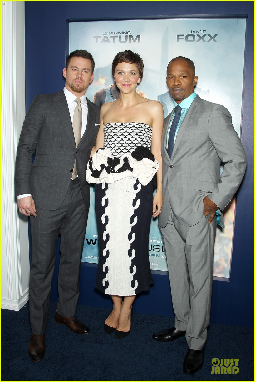channing tatum jamie foxx white house down nyc premiere 01