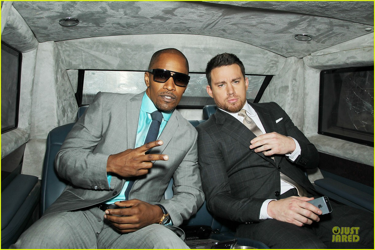 channing tatum jamie foxx white house down nyc premiere 04
