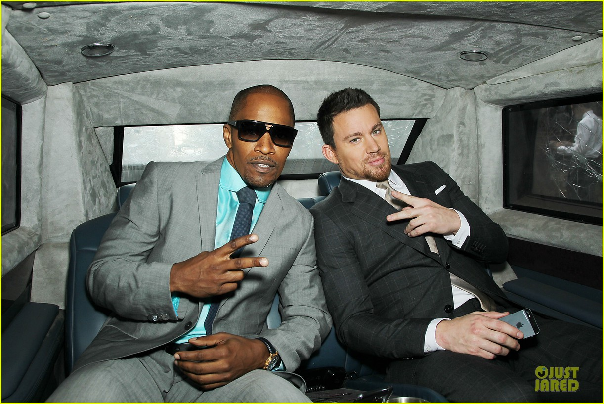 channing tatum jamie foxx white house down nyc premiere 112898503