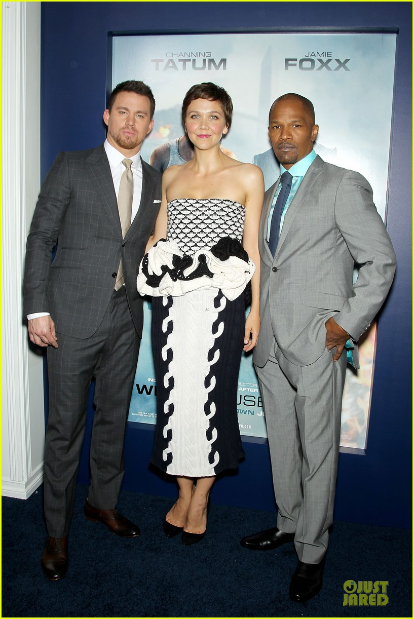 channing tatum jamie foxx white house down nyc premiere 222898514