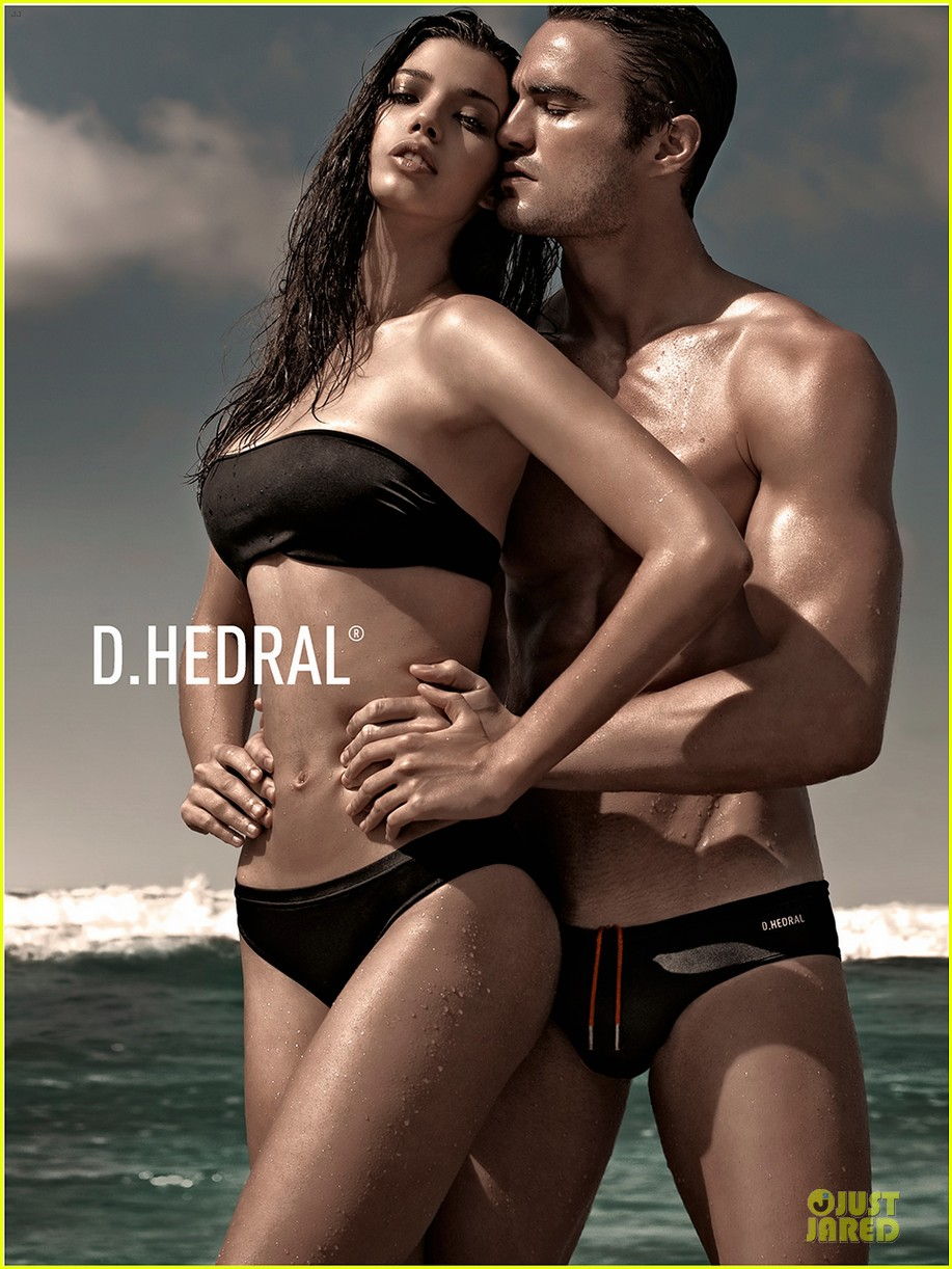 thom evans shirtless d hedral beachwear campaign 032898559