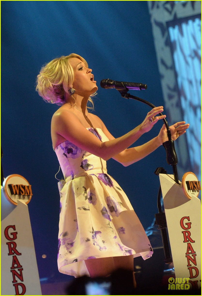carrie underwood i love performing at the grand ole opry 06
