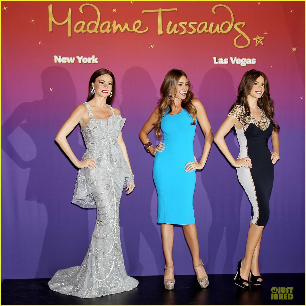 sofia vergara madame tassauds wax figures unveiling 092884546