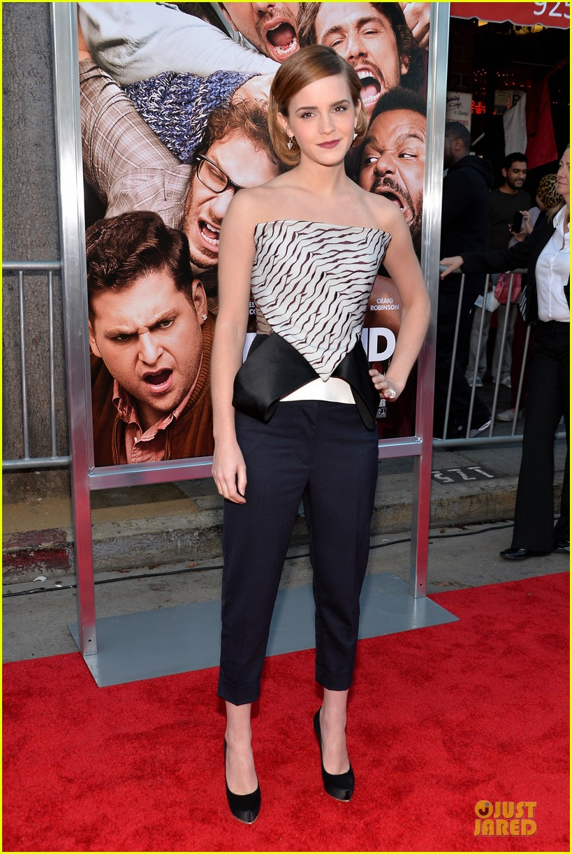 emma watson this is the end los angeles premiere 012883981