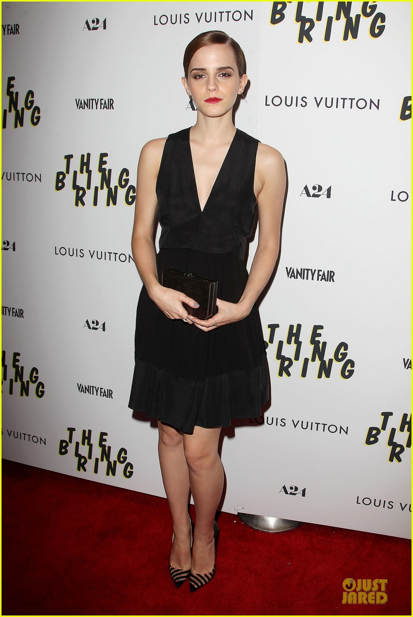 emma watson bling ring nyc screening 012889271