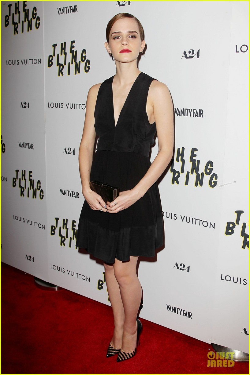 emma watson bling ring nyc screening 112889281