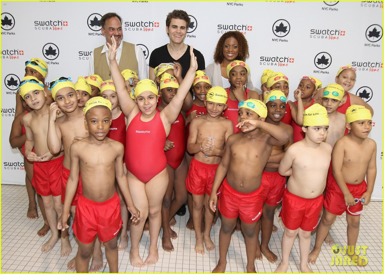 paul wesley swatch scuba libre days launch 04