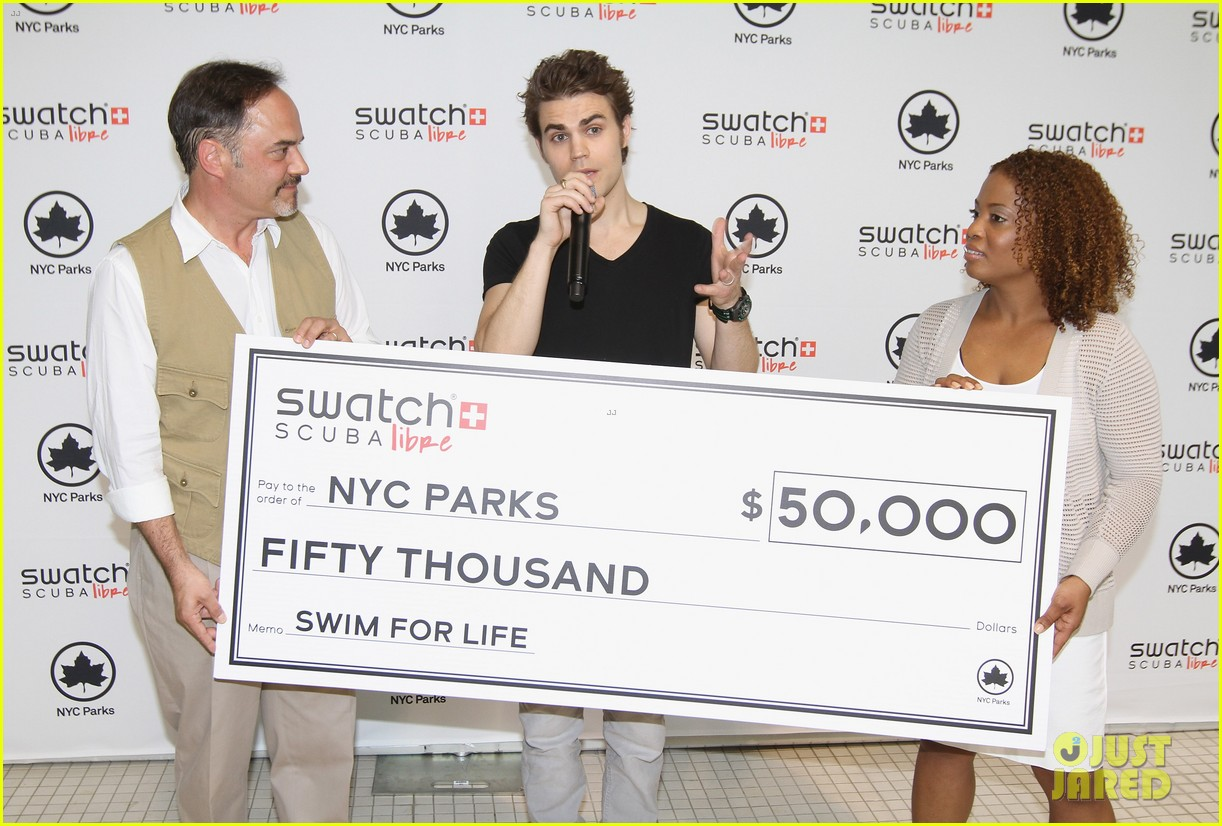 paul wesley swatch scuba libre days launch 05