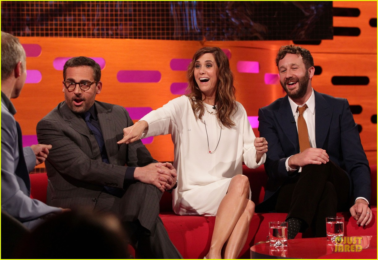 kristen wiig steve carrell the graham norton show guests 02