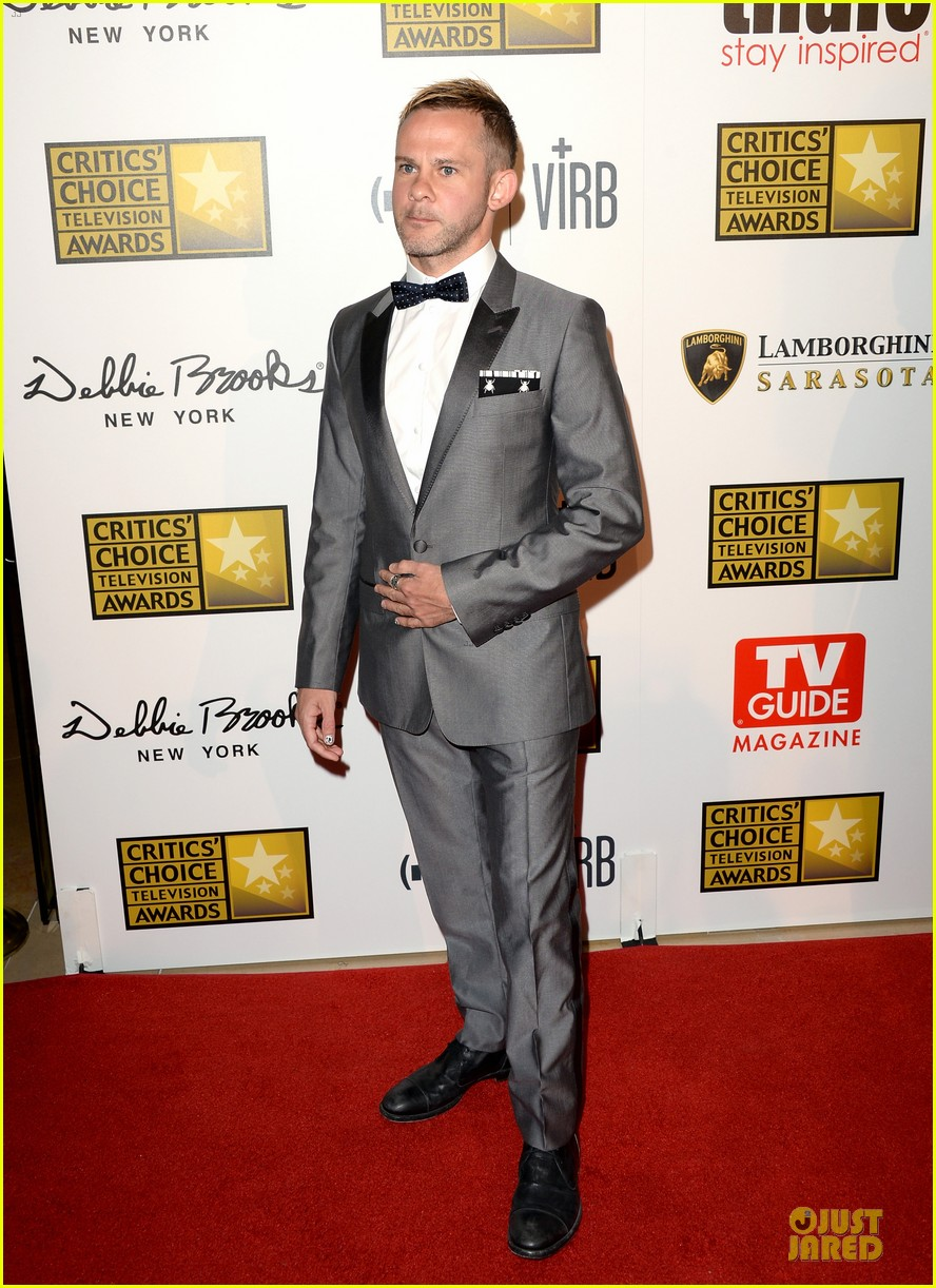 patrick wilson dominic monaghan critics choice television awards 2013 red carpet 082888682