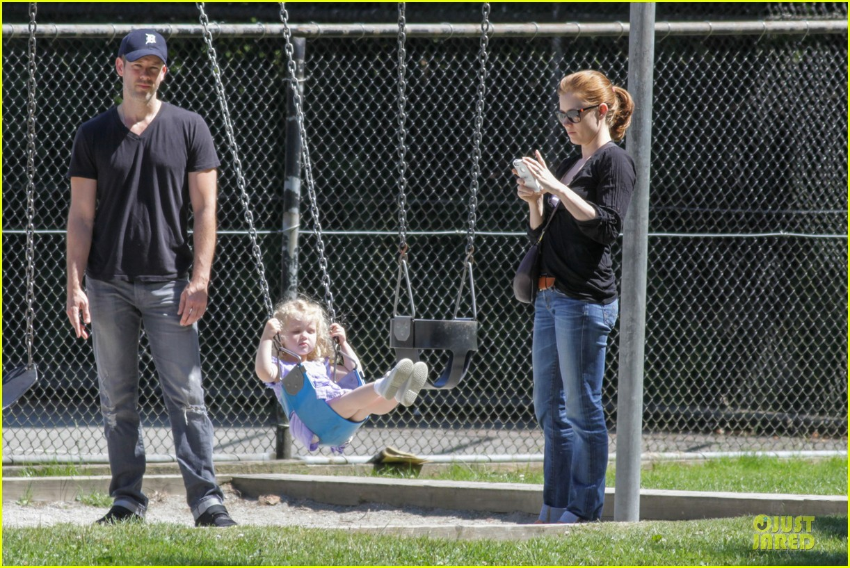 amy adams darren le gallo park date with aviana 08