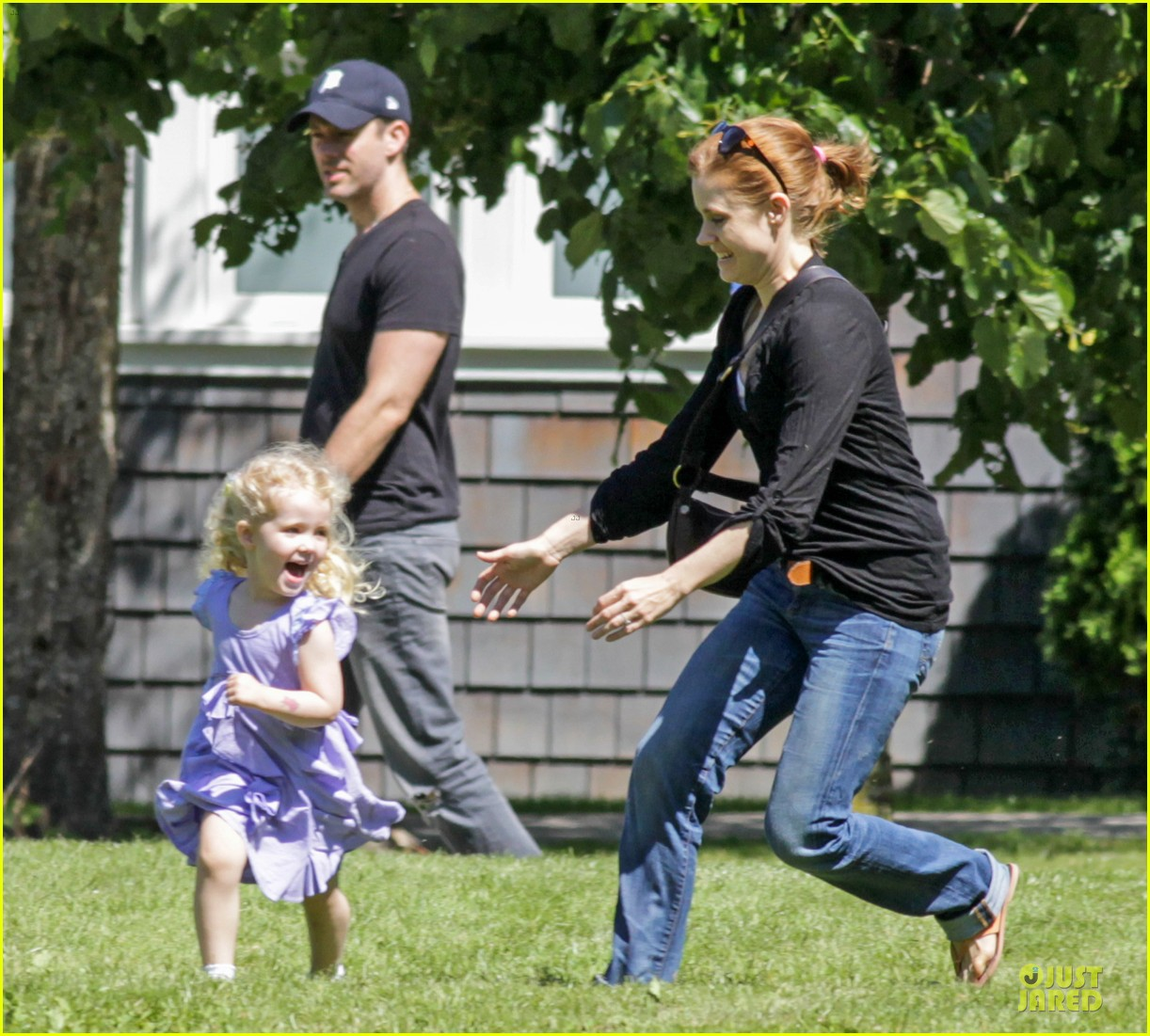 amy adams darren le gallo park date with aviana 212905260