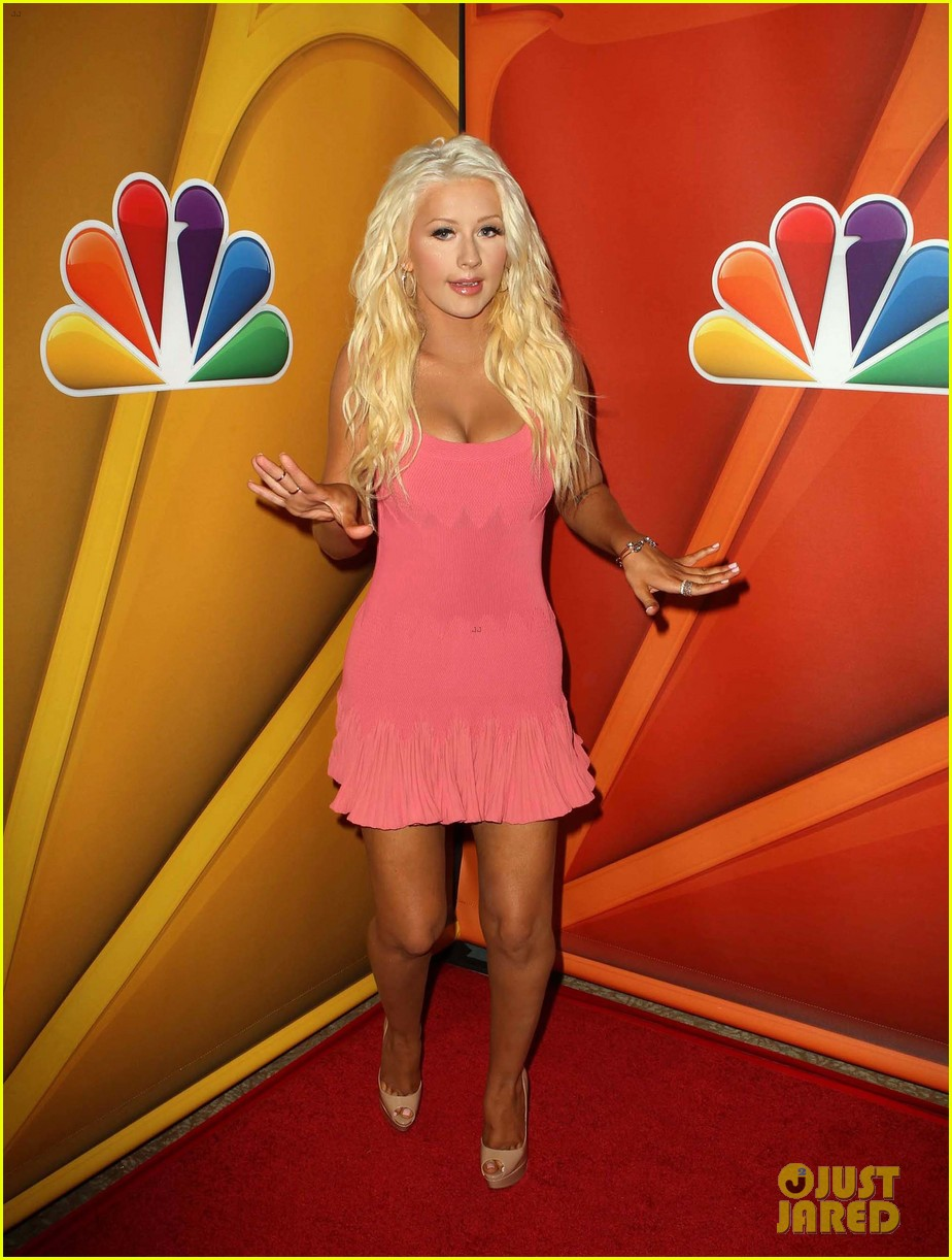 christina aguilra the voice at nbc tca summer tour 062918207