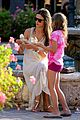 alessandra ambrosio ice cream treat anja friends 36