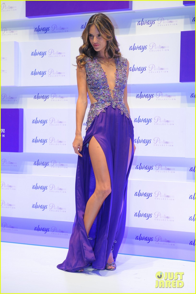 alessandra ambrosio always platinum collection launch 01