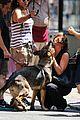 jennifer aniston walks dog gets justin theroux visit on set 04