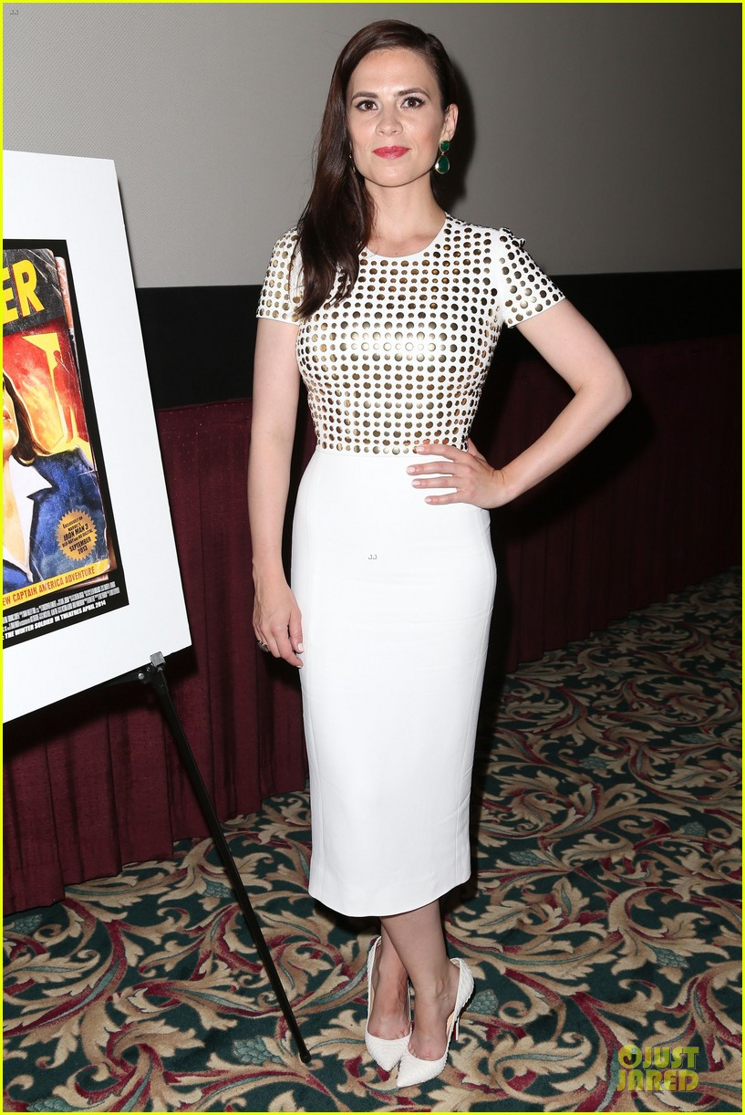 hayley atwell marvel one shot agent carter screening 012913090