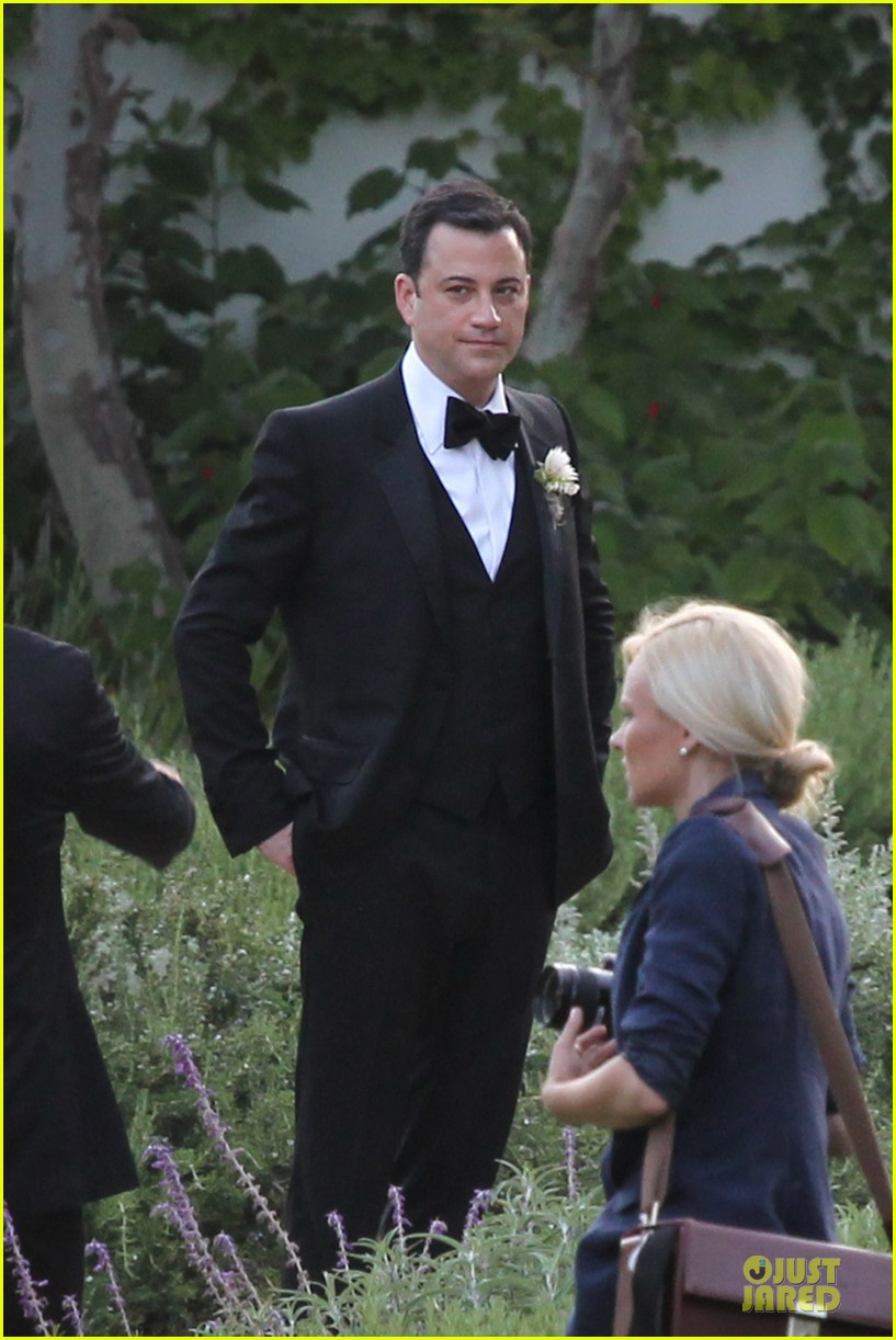kristen bell dax shephard jimmy kimmel molly mcnearney wedding pic 05