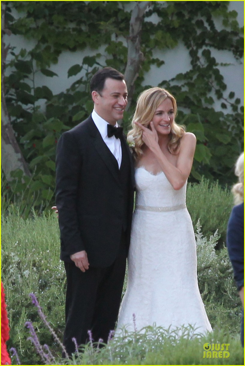kristen bell dax shephard jimmy kimmel molly mcnearney wedding pic 08