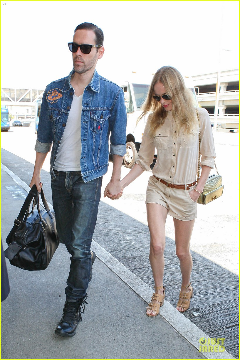 kate bosworth michael polish big sur support at lax 01