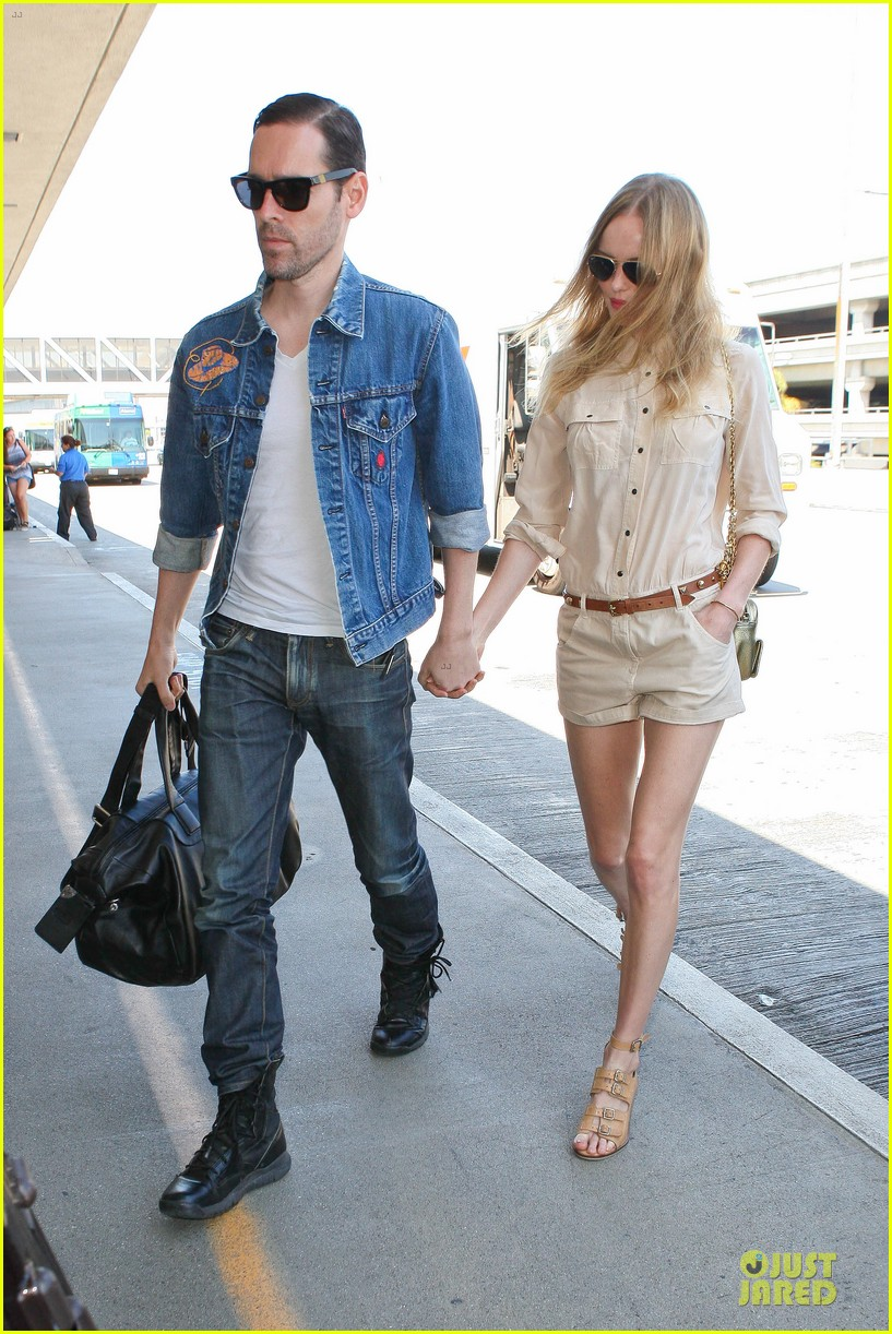 kate bosworth michael polish big sur support at lax 032919562