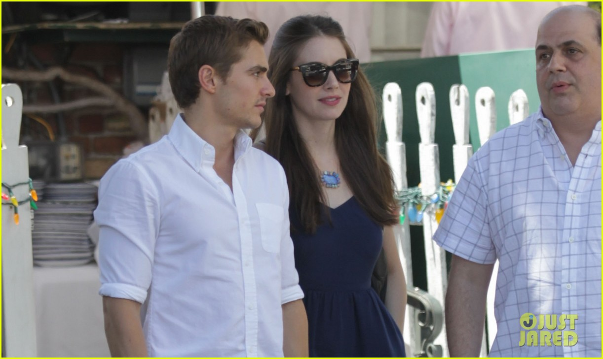 dave franco alison brie lunch date at the ivy 01