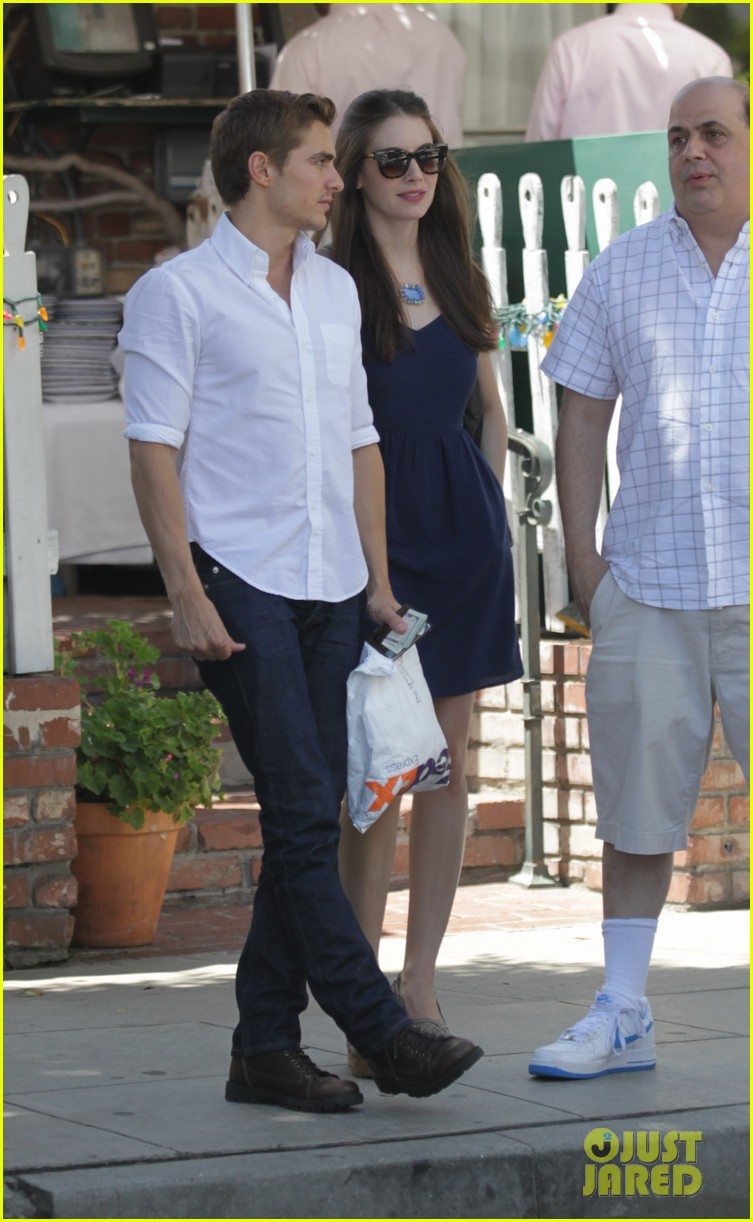 dave franco alison brie lunch date at the ivy 03