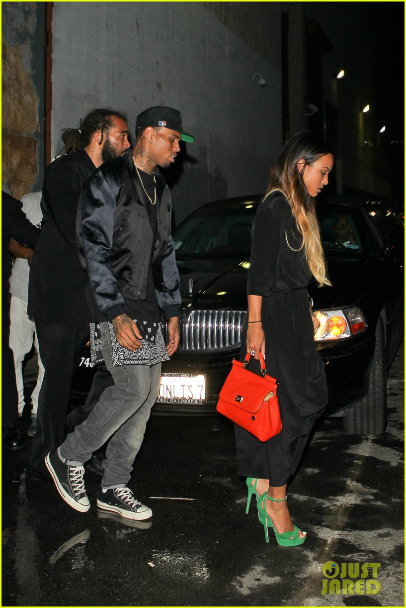chris brown karreuche tran bet awards 2013 after party 092901864