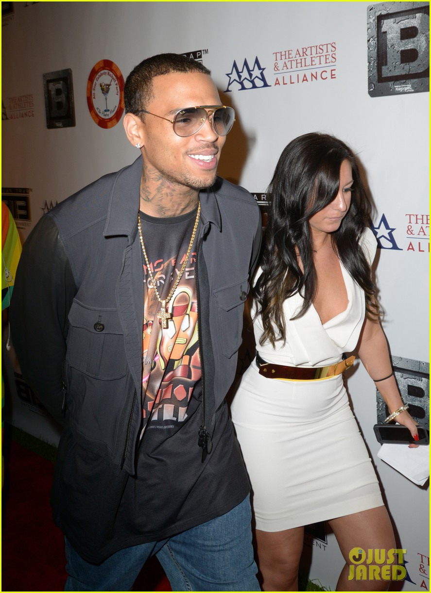 chris brown bte all star kickoff party after court appearance 01