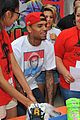 chris brown pleads not guity to hit run charges 25