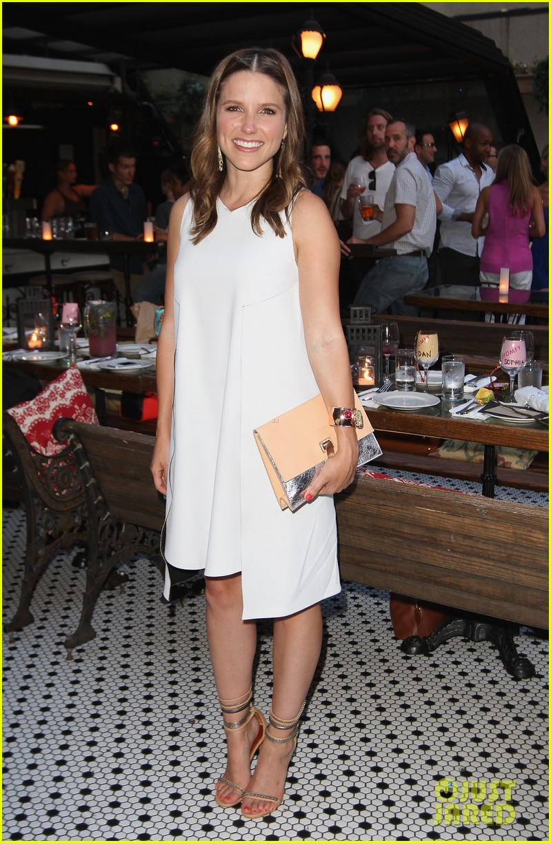sophia bush birthday celebration in new york 01