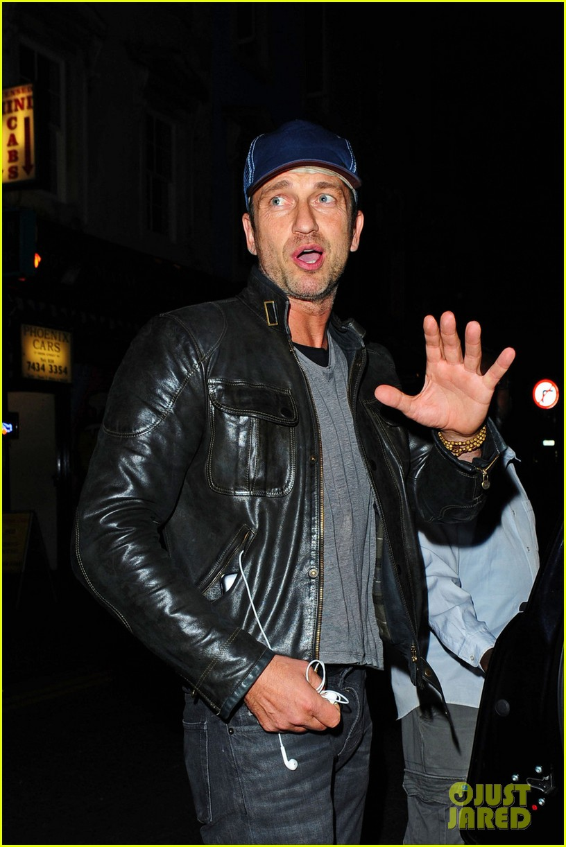 gerard butler leaves london nightclub with mystery gal 04