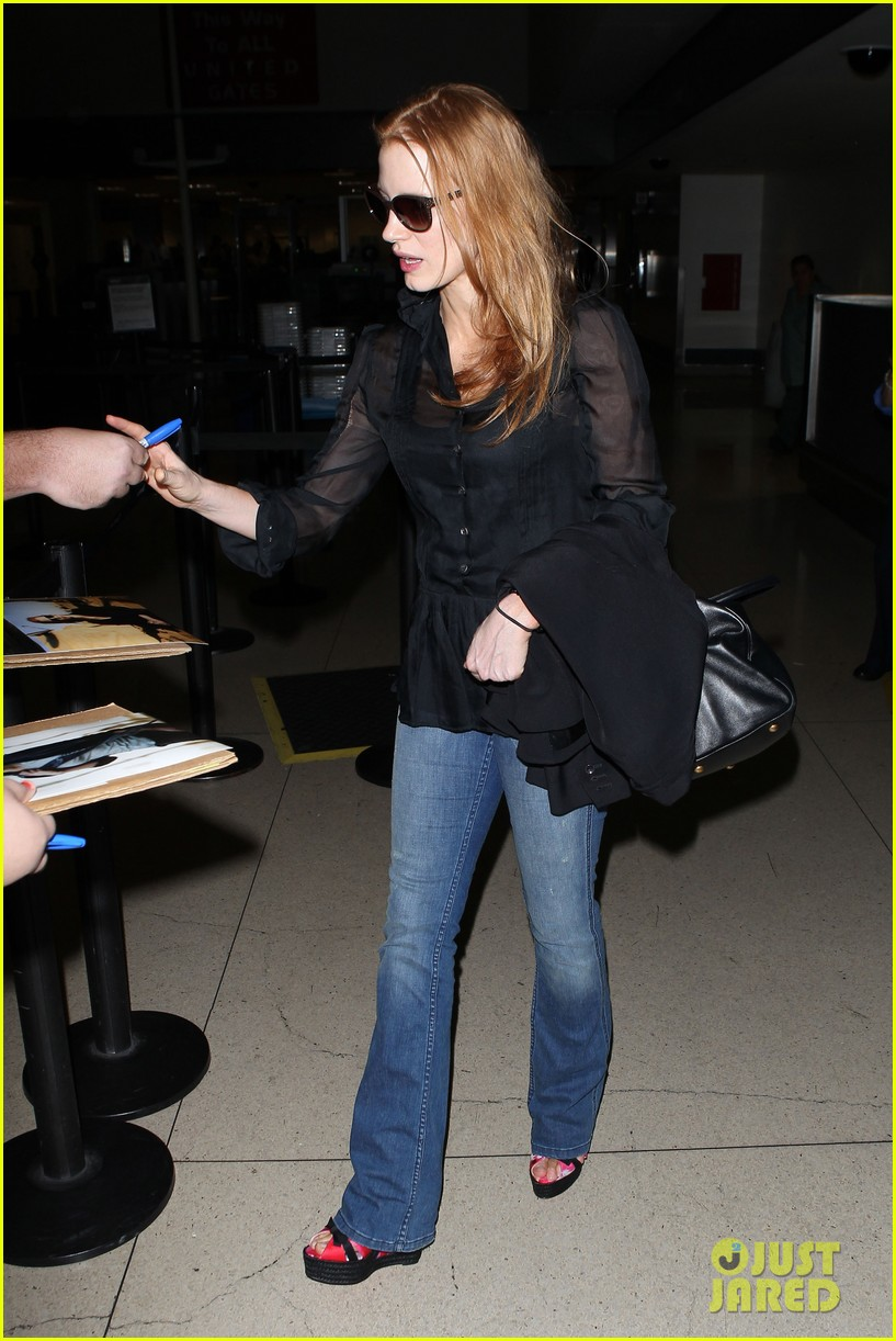 jessica chastain griffoni film festival this weekend 132912135