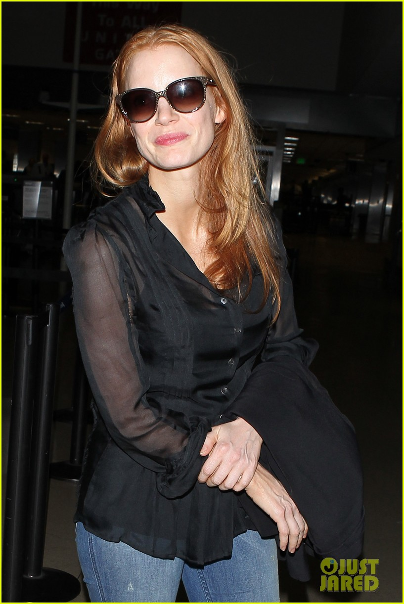 jessica chastain griffoni film festival this weekend 17