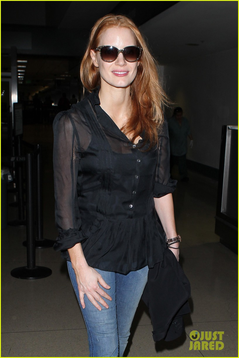 jessica chastain griffoni film festival this weekend 212912143