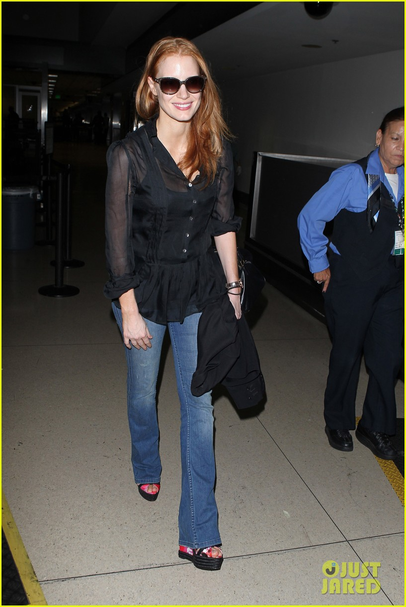 jessica chastain griffoni film festival this weekend 23